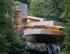 Frank Lloyd Wright Falling Water Accommodations